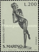 [EUROPA Stamps - Sculptures, Typ ABJ]