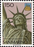 [The 200th Anniversary of the Independence of the United States of America, Typ ADE]