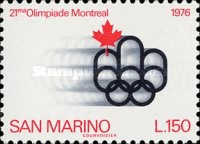 [Olympic Games - Montreal, Canada, Typ ADG]