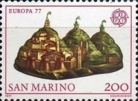[EUROPA Stamps - Landscapes, Typ ADR]