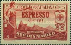 [Italian Red Cross Foundation, type AE]