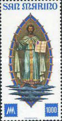 [The 100th Anniversary of San Marino Stamps, Typ AEC]