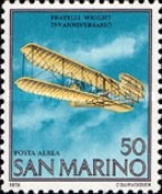 [The 75th Anniversary of the First Flight of the Wright Brothers, Typ AER1]