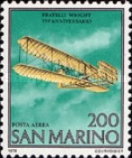[The 75th Anniversary of the First Flight of the Wright Brothers, Typ AER2]