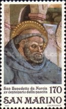 [The 1500th Anniversary of the Birth of St. Benedict of Nursia, Typ AGD]
