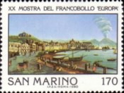 [International Philatelic Exhibition Europa, Naples, Typ AGH]