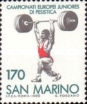 [European Junior Weightlifting Championships, San Marino, Typ AGT]