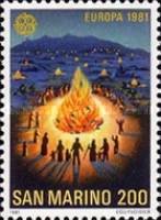 [EUROPA Stamps - Folklore, Typ AGX]