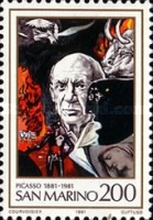 [The 100th Anniversary of the Birth of Pablo Picasso, Typ AHM]