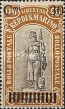 [War Casualties Foundation Stamps of 1918 Surcharged, type AI]