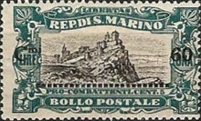 [War Casualties Foundation Stamps of 1918 Surcharged, type AI1]
