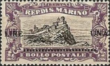 [War Casualties Foundation Stamps of 1918 Surcharged, type AI2]