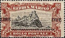 [War Casualties Foundation Stamps of 1918 Surcharged, type AI3]