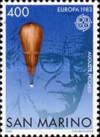 [EUROPA Stamps - Inventions of Auguste Piccard, type AIV]