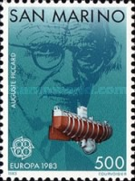 [EUROPA Stamps - Inventions of Auguste Piccard, type AIW]