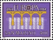 [EUROPA Stamps - Bridges - The 25th Anniversary of European Conference of Postal and Telecommunications Administrations, Typ AJK]
