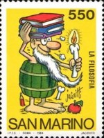 [School and Philately Sketches - By Benito Jacovitti, Typ AJY]