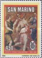 [The 25th Anniversary of the Choir Association of San Marino, Typ ALM]