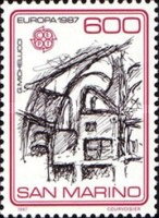[EUROPA Stamps - Modern Architecture, Typ ALR]