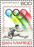[World Athletics Championships and International Philatelic Exhibition