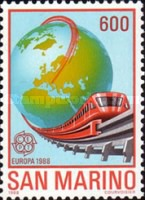 [EUROPA Stamps - Transportation and Communications, Typ AMR]