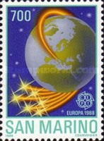 [EUROPA Stamps - Transportation and Communications, Typ AMS]