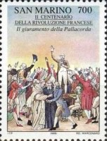 [The 200th Anniversary of the French Revolution, Typ AOG]