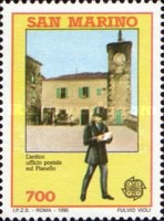 [EUROPA Stamps - Post Offices, Typ AOR]