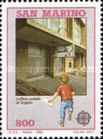 [EUROPA Stamps - Post Offices, Typ AOS]