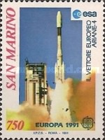 [EUROPA Stamps - European Aerospace, Typ APY]