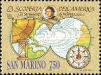 [The 500th Anniversary of Discovery of America, Typ AQF]