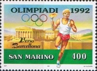 [Olympic Games - Barcelona '92, Spain, Typ AQH]