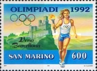 [Olympic Games - Barcelona '92, Spain, Typ AQI]