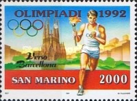 [Olympic Games - Barcelona '92, Spain, Typ AQJ]
