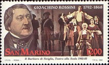 [The 200th Anniversary of the Birth of Gioachino Rossini, 1792-1868, Typ AQZ]