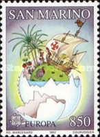 [EUROPA Stamps - The 500th Anniversary of the Discovery of America, Typ ARQ]