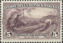 [The 700th Anniversary of the Death of St. Francis of Assisi, Typ AU1]