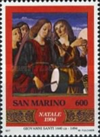 [Christmas - The 500th Anniversary of Giovanni Santi, Typ AUQ]