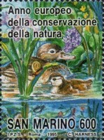 [European Nature Conservation Year, Typ AVF]