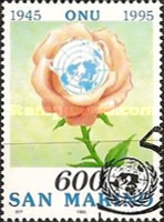 [The 50th Anniversary of the United Nations, Typ AVH]