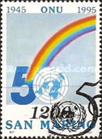 [The 50th Anniversary of the United Nations, Typ AVJ]