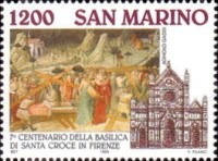 [The 700th Anniversary of Basilica Santa Croce, Florence, Typ AVM]