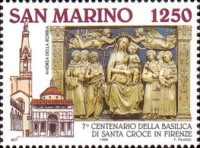 [The 700th Anniversary of Basilica Santa Croce, Florence, Typ AVN]