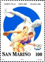 [The 100th Anniversary of Modern Olympic Games, Typ AWR]