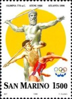 [The 100th Anniversary of Modern Olympic Games, Typ AWU]