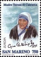 [EUROPA Stamps - Famous Women - Mother Teresa of Calcutta, 1910-1997, Typ AXB]