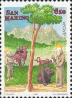 [EUROPA Stamps - Tales and Legends, Typ AZM]
