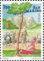 [EUROPA Stamps - Tales and Legends, Typ AZN]