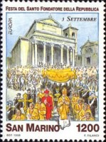 [EUROPA Stamps - Festivals and National Celebrations, Typ BBW]