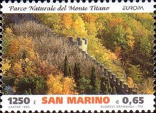[EUROPA Stamps - Nature Reserves and Parks, Typ BEC]